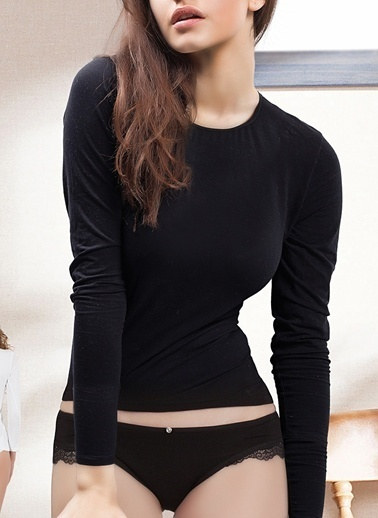 Miorre Uzun Kollu Body Siyah